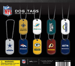 "2"" NFL DOG TAGS DISPLAY"