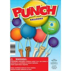 "1"" PUNCH BALLOONS DISPLAY"