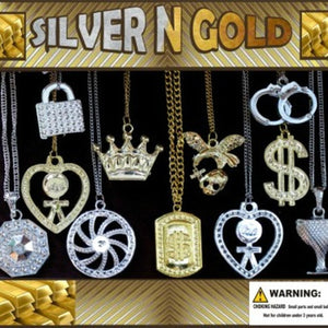 "2"" SILVER N GOLD - 250 COUNT"