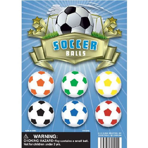 "1"" SOCCER BALLS DISPLAY"