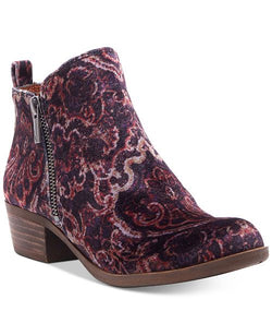 Lucky Brand LK-Basel In Black Multi Paisly Brocadevelvet
