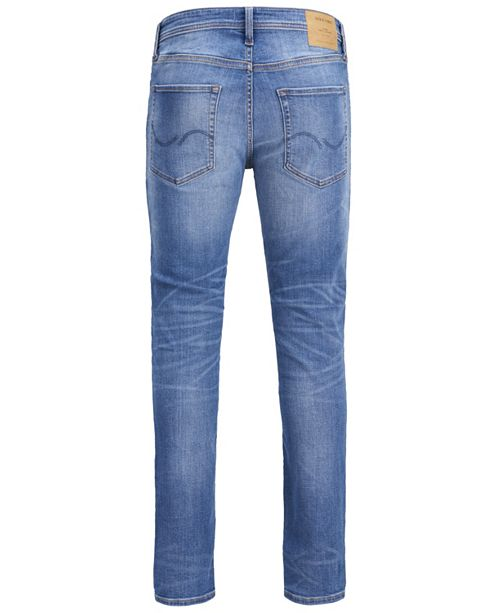 Jack & Jones Men's Super Stretch Slim Fit Clark Jeans