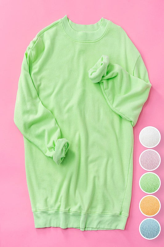 COTTON CANDY CREWNECK SWEATSHIRT
