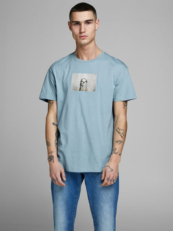 JORGILBERT ANIMAL TEE SS CREW NECK