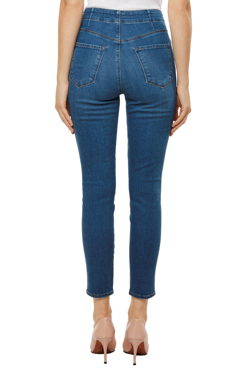 j brand, denim, womens denim, womens, blue, skinny, natasha sky high, cropped, lovesick