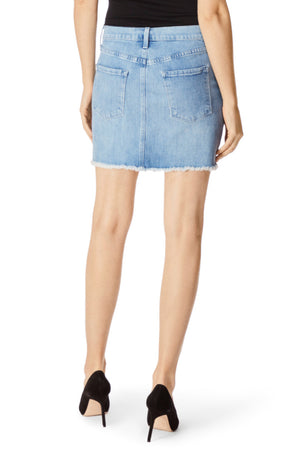 j brand, denim, womens denim, womens, denim skirt, denim, denim skirts