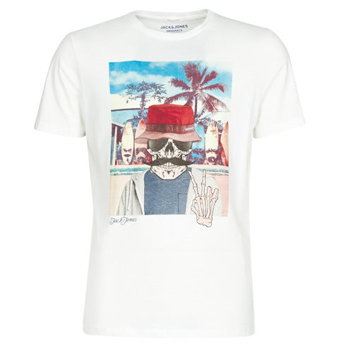 JORRICKY TEE SS CREW NECK CLOUD DANCER