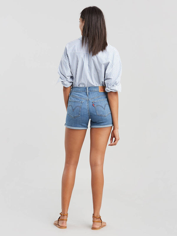 LEVIS MID LENGTH WOMENS SHORTS