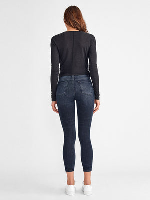 DL-1961 CHRISSY ULTRA HIGH RISE SKINNY PORTER