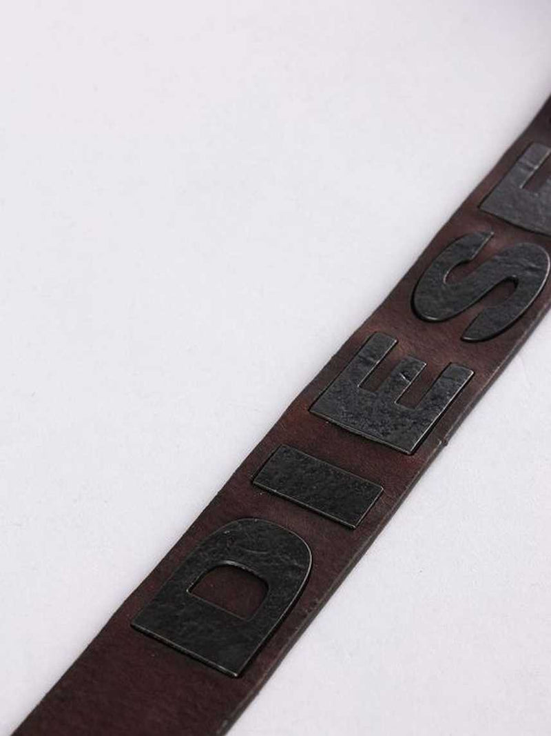 diesel belt, belt, brown, mens belt, men