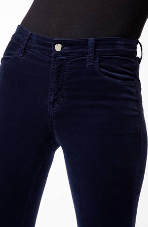 J BRAND 815 Mid-Rise Super Skinny In Velveteen Night Out