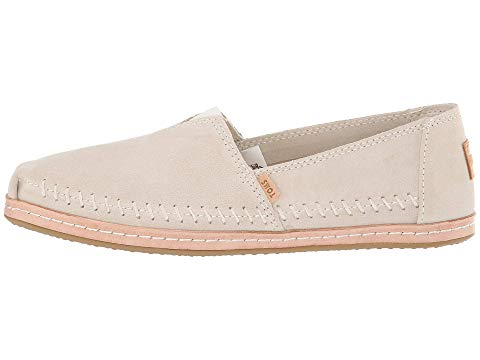 toms, slip on, classic toms, cream, womens shoes, women
