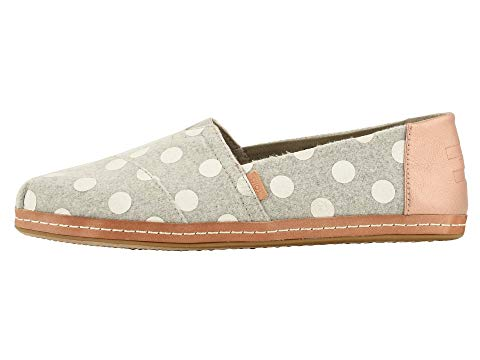 dots, leather, toms shoes, toms womens, womens shoes, classic toms