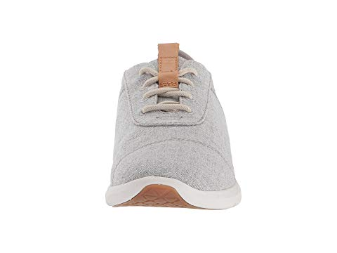 women, toms, sneakers, lace up, grey