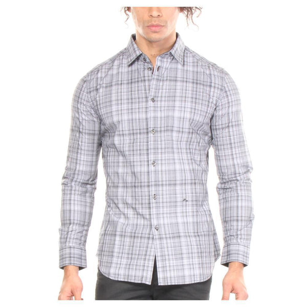 diesel, button up, tshirt, cotton, mens, diesel mens, long sleeve