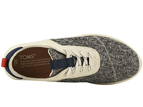 womens, sneaker, toms, lace up, grey, white