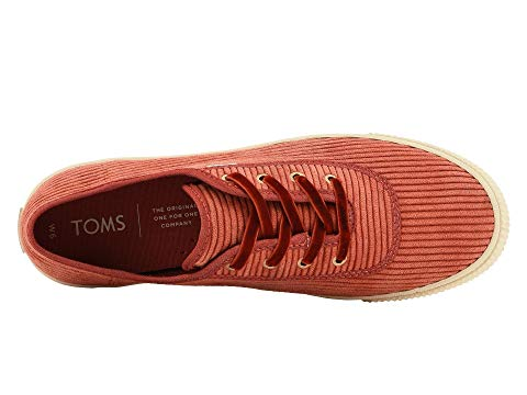 womens, sneakers, toms, lace up, red