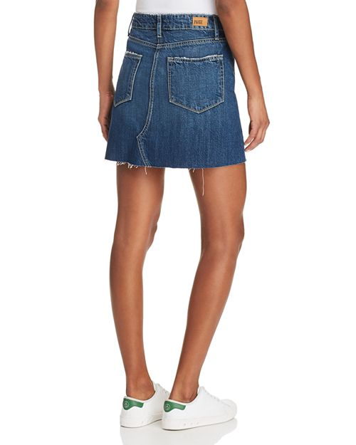 paige, womens skirt, womens, skirt, denim, denim skirt, paige denim, women, valeria