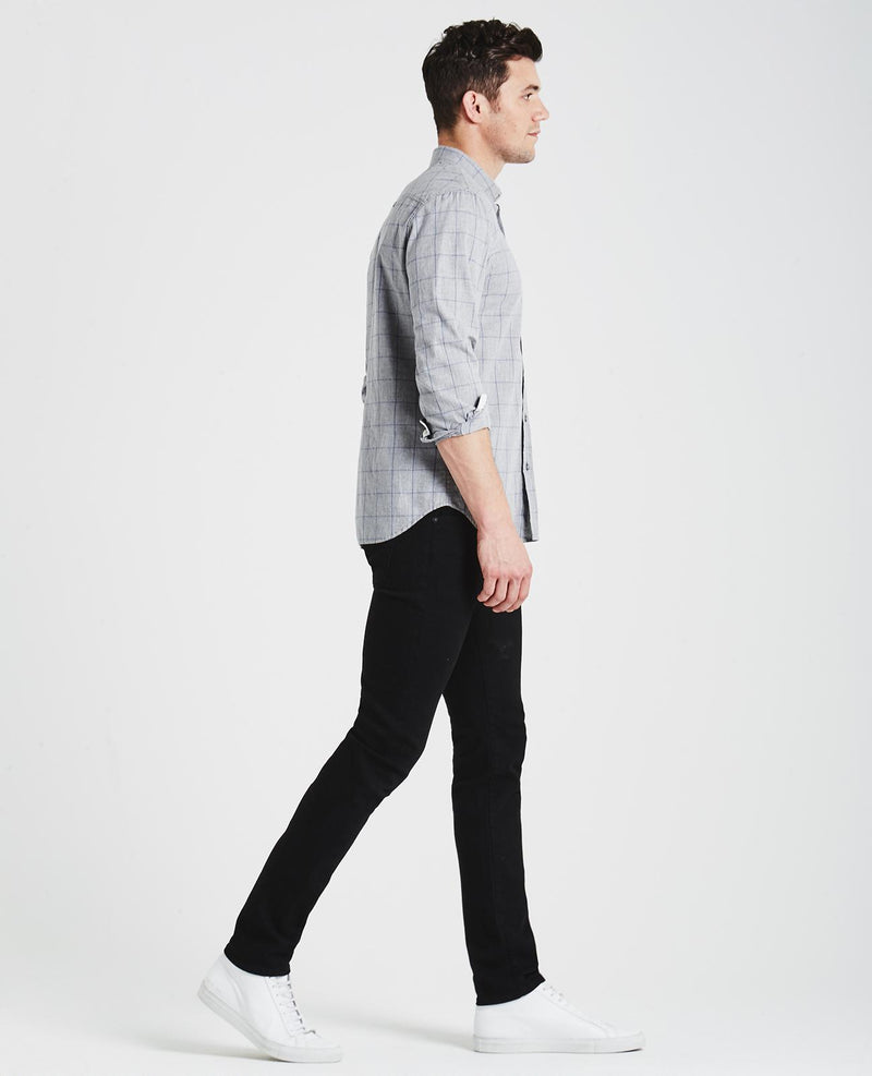 skinny, men, denim, black, classic, agjeans