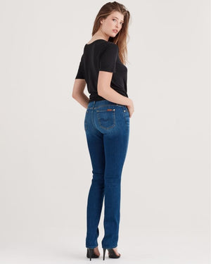 Seven for All Mankind b(air) Denim Kimmie Straight in Duchess