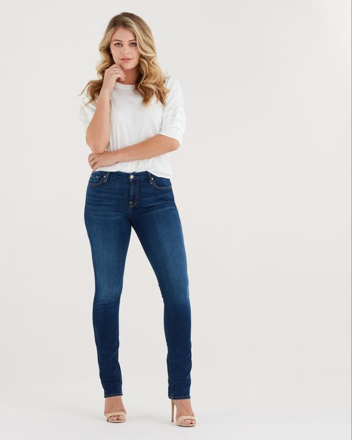 a71c07d301485 Seven for All Mankind b(air) Denim Kimmie Straight in Duchess - The ...
