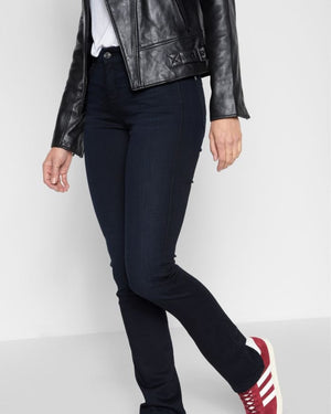 Seven for All Mankind b (air) Denim The Kimmie Straight in Blue Black River Thames