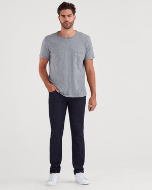 sevens, seven for all mankind, mens denim, sevens denim, denim, mens, luxe performance, 7s, straight, dark wash, comfort