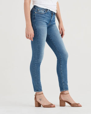 sevens, seven for all mankind, womens denim, sevens denim, denim, womens, skinny, fray, light wash, 7s