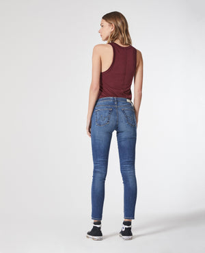 skinny, women, agdenim, denim, cropped ankle