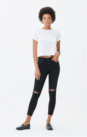 Citizens of Humanity Rocket Top High Rise Skinny Siren Denim