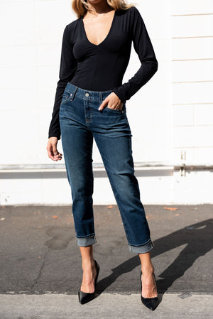 women, agdenim, boyfriend, mid rise, boyfriend jean, denim, stretch