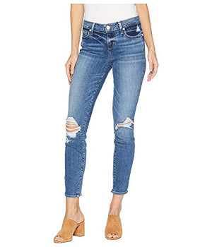 Paige Verdugo Ankle Embarcadero Destructed Mid Rise Ultra Skinny