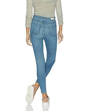 Adriano Goldschmied Women's Mila High-Rise Skinny Ankle In 17 Years