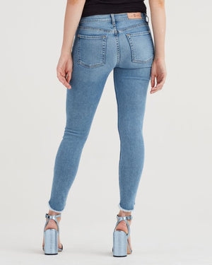 Seven for All Mankind Ankle Skinny Luxe Vintage Flra Blue