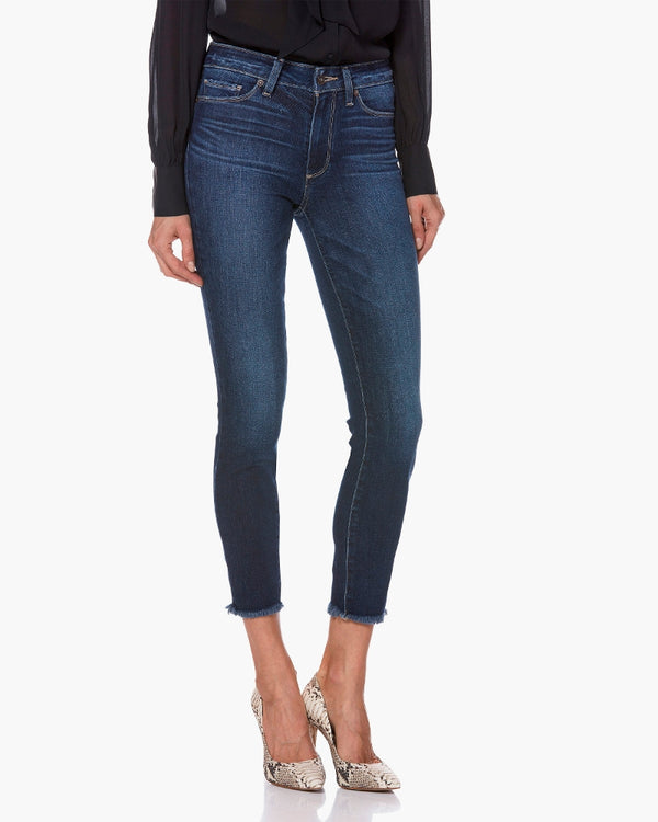paige denim, paige, womens denim, denim, skinny, dark wash, ankle, high rise, fray, paige, womens denim, women