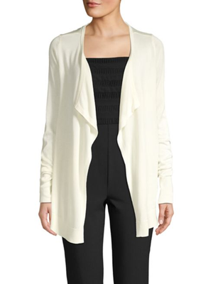 VICA LS DRAPED CARDIGAN GA