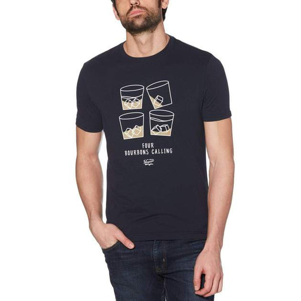 Original Penguin FOUR BOURBONS CALLING TEE