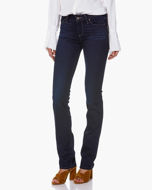 paige, paige women, paige denim, denim, womens denim, womens, jeans, mid rise, straight, dark wash