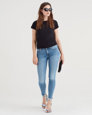sevens, seven for all mankind, womens denim, sevens denim, denim, womens, skinny, fray, light wash
