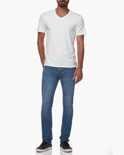 paige, paige mens, paige denim, denim, mens denim, mens, white v neck, white shirt, tshirt, white,
