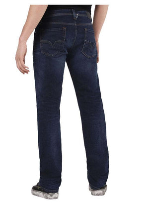 mens diesel, diesel denim, diesel, dark blue, denim, straight