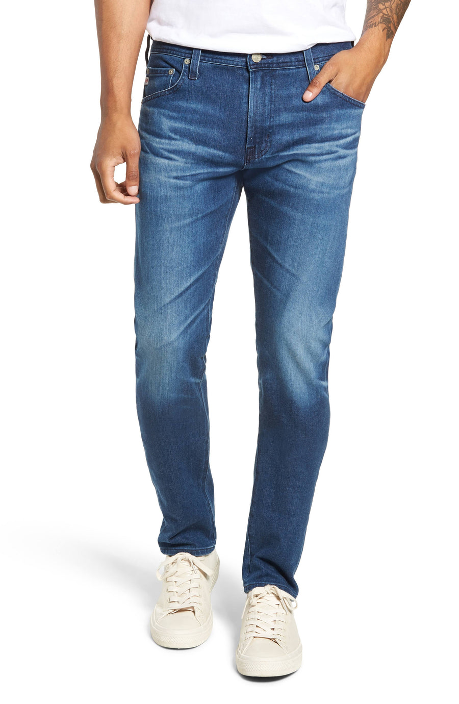 AG Adriano Goldschmied The Dylan Slim Skinny 10Y-Blue