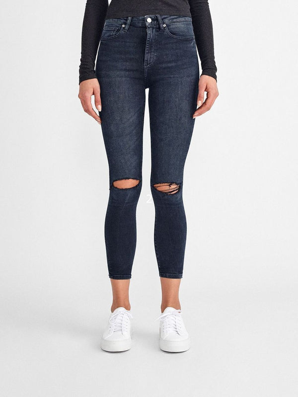DL, dl denim, womens, womens denim, knee rips, high rise, skinny