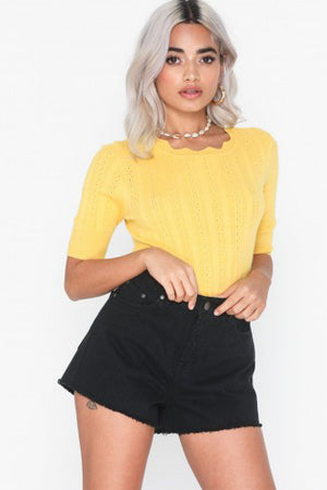 VITA 2/4 O-NECK BLOUSE