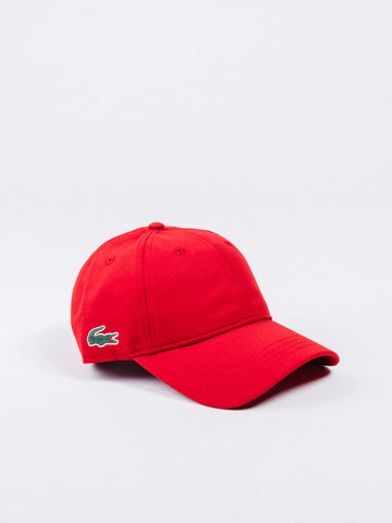 Lacoste Side Croc Beanie Red