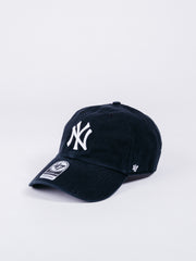 gorra 47 CLEAN UP New York Yankees Black visera curva beisbol