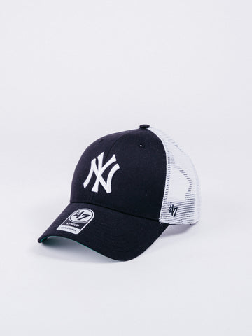 47 BRAND SNAPBACK SIDE SCRIPT New York Yankees Grey