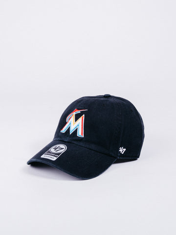CLEAN UP Miami Marlins Dad Hat