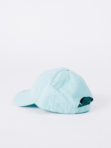 CLEAN UP New York Yankees Dad Hat Turquoise