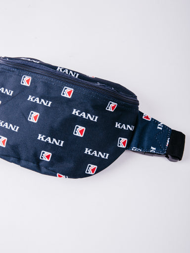 Karl Kani OG Waist Bag Navy/White/Red riñonera